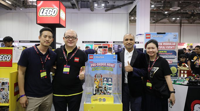 Lego 2020 Modular Building Set Unveil Event