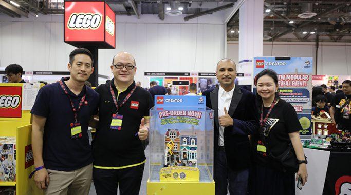 Lego 2020 Modular Building Set Unveil Event