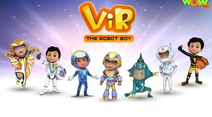 Vir_the robot boy